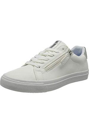 Tamaris Damen 1-1-23610-26 Sneaker, Sneaker, white