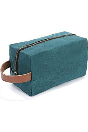Denifiter Kulturbeutel für Damen und Herren, tragbare Reise-Make-up-Tasche, Kosmetiktasche
