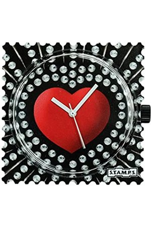 S.T.A.M.P.S. Unisex Analog Quarz Uhr mit None Armband 100421