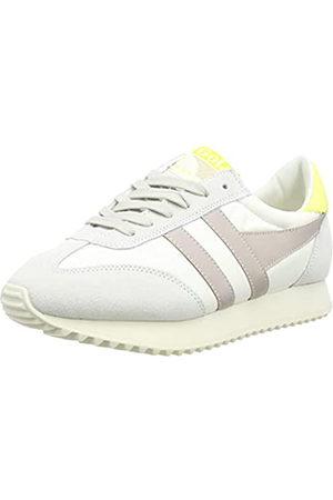 Gola Damen Boston 78 Sneaker, Off White/Blossom/Limelight