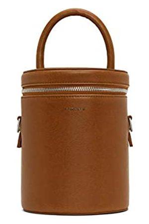 Matt & Nat Vegane Handtaschen, Dov Vintage Crossbody-Tasche, schwarz – 100% tier- und tierversuchsfrei, 100% recyceltes Futter
