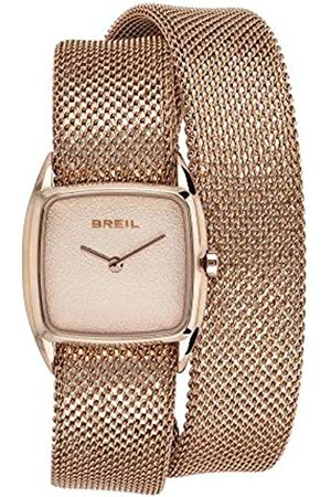 Breil Armbanduhr fur Frau New Snake mit milanaisearmband aus Stahl