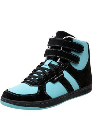 Creative Recreation Women's Dicoco High-Top Sneaker,Black/Aqua