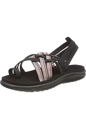 Teva Damen Voya Strappy Flache Sandale