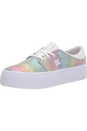 DC Damen Trase Plateau Skate Schuh, ( /Regenbogen)