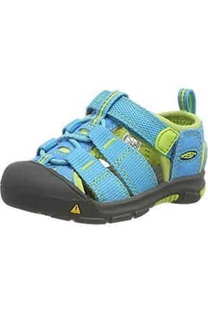 Keen Jungen Newport H2 Sandalen Trekking-& Wanderschuhe, (Hawaiian Blue/Green Glow Hawaiian Blue/Green Glow)