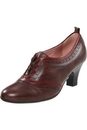 BeautiFeel Women's NIA, Brown/Bordo Leather Combination