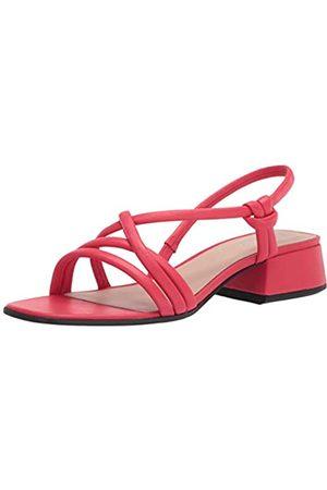 Ecco Damen Elevate Square Toe Strap Sandale mit Absatz