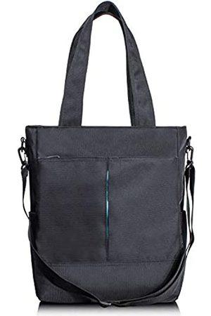 Schkleier Crossbody Travel Tote Wasserdichte Laptop-Tragetasche, Business College Schultertasche mit Reißverschluss, Unisex