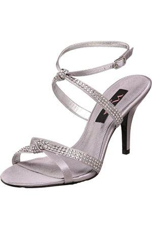 NINA Gencee Damen-Sandalen mit Knöchelriemen