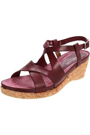 Cordani Saveria Damen Sandalen mit Keilabsatz, Rot (Rasberry)