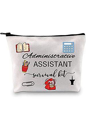 GJTIM Admin Assistant Geschenke Admin Geschenk Mitarbeiter Wertschätzung Geschenk Administrative Assistent Survival Kit Make-up Tasche