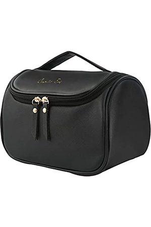 NUFR Make-up-Tasche, Kosmetiktasche, Reise-Kosmetiktasche, Organizer, tragbare Aufbewahrungstasche, mit hoher Kapazität für Kosmetika, Make-up-Pinsel