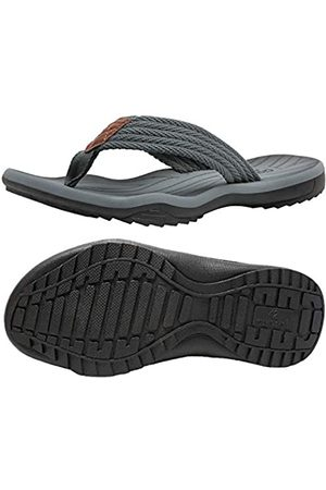 SEEROL Herren Flip Flop Thong Sandalen Outdoor Strand Slipper mit Komfort Fußbett