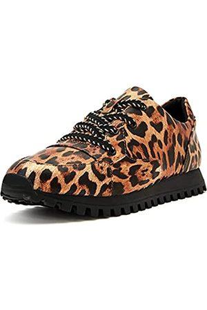 Katy perry Damen The Lilia Laceup Leopard Sneaker, /Mehrfarbig