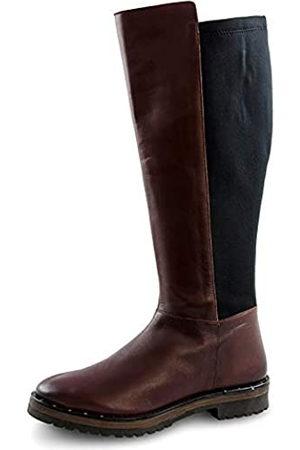 Marc Damen Shoes Macarena Cow Crust-Stretch Stiefel (