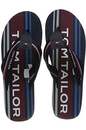 TOM TAILOR Herren 1181605 Flipflop, Navy-red