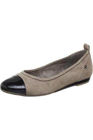 Jana Fashion 8-8-22104-20, Damen Ballerinas, (TAUPE 341)