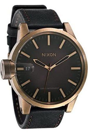 Nixon Herren-Armbanduhr Analog Leder A127581-00