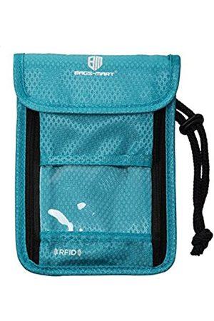 Bags Mart Reisetasche mit RFID-blockierendem Nackenbeutel, Reisepasshalter für Damen & Herren - Reisetasche, Zubehör