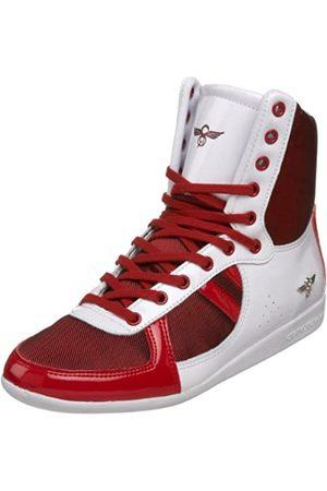 Creative Recreation Damen Galow Hi Fashion Sneaker, (Rotes Netz)