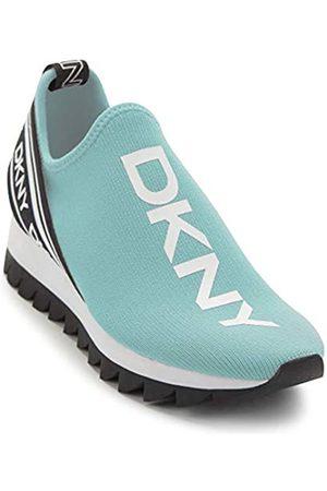 DKNY Damen Sneaker, Aqua/ Abbi