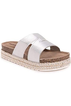 MUK LUKS Damen Women's Beach Blanket Platform Sandale
