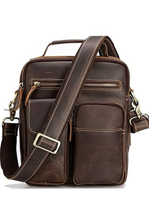 Unique Retro Bag Herren Leder Messenger Bag Crossbody Shouder Taschen