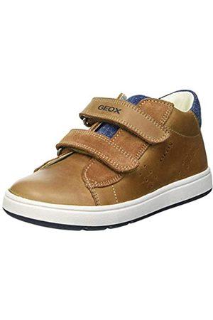 Geox Baby-Jungen B BIGLIA Boy D First Walker Shoe, Caramel/Navy