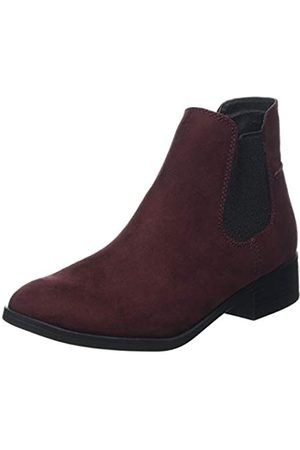 Dorothy Perkins Damen Monty Chelsea Boots, (Burgundy 10)