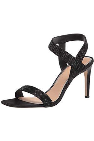 Badgley Mischka Damen-Sandalen mit Knöchelriemen und Absatz