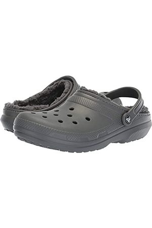 Crocs Unisex-Erwachsene Classic Lined Clogs, (Slate Grey/Smoke 0Ex)