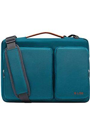 LSS Laptoptasche für Damen und Herren, coole, stilvolle und langlebige Schultertasche für Laptops von 30,5 cm bis 32,8 cm (12 - 12,9 Zoll), inklusive rutschfestem Schultergurt, kompatibel mit Apple, Microsoft, Lenovo, HP, Dell