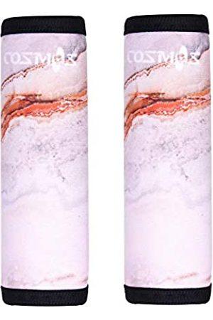 CM Cosmos 2 Stück Neopren-Gepäckgriff-Wrap/Griff-Griff/Gepäckkennzeichnung für Reisetasche Gepäck Koffer