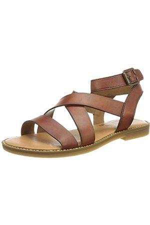 Remonte Damen D3661 Flache Sandale, palisander / 24