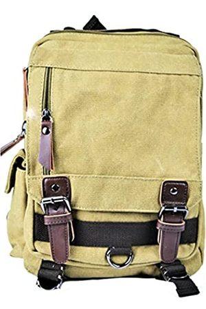 Generic Kenenna Messenger Bag Rucksack Crossbody für Damen und Herren Diese Schultertasche bietet Platz für ein 10-Zoll-Tablet und mehr mit Leichtigkeit.Dieses Segeltuch ist langlebig