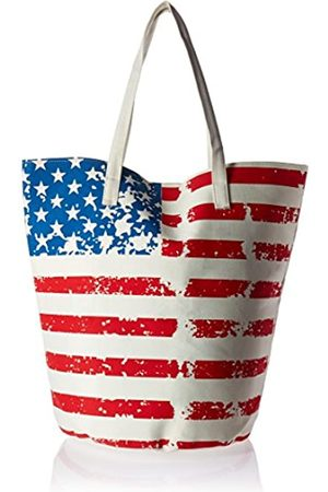 Natico Stars and Stripes Jumbo Bucket Bag