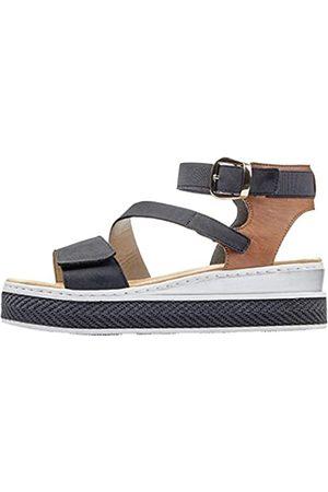Rieker Damen V4858 Sandale