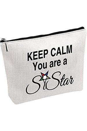 "Generic Kosmetiktasche mit Aufschrift ""Keep Calm You're A Sistar OES"""