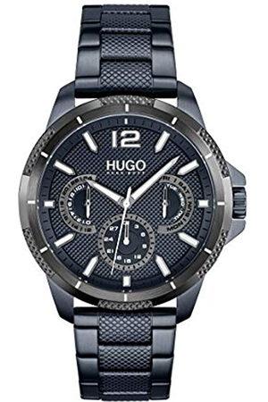 HUGO BOSS Herren Analog Quarz Uhr mit Edelstahl Armband 1530194