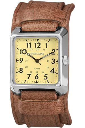Excellanc Herren-Uhren mit Polyurethan Lederband 295027500064