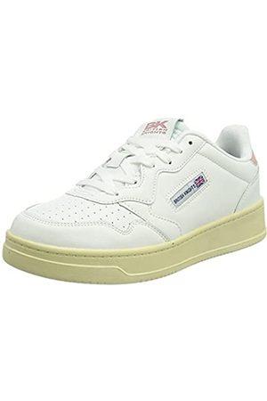British Knights Damen NOORS Sneaker, White/PINK