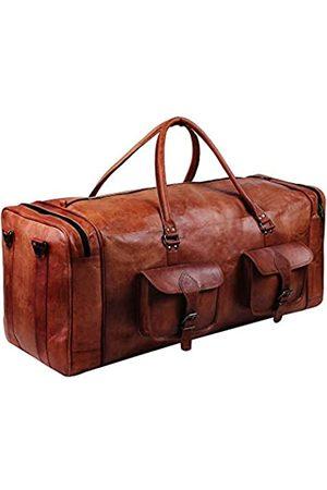 HULSH Herren Reisetaschen - Leder-Reisetasche für Herren 76
