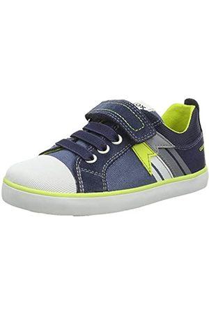 Geox B Kilwi Boy B Sneaker, AVIO/Fluo Yellow