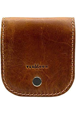 VLUMOON Ledergürtel Münzbörse | Handgemachte Münztasche für Gürtel und Bargeldhalter