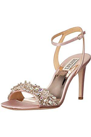 Badgley Mischka Damen RIDER Sandale mit Absatz, Pink - Aurora Pink