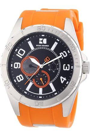 HUGO BOSS Boss Orange Herren-Armbanduhr XL Analog Quarz Silikon 1512812