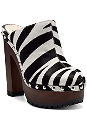 Jessica Simpson Women's Kouren Clog, Black/White