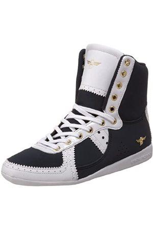Creative Recreation Damen W Galow Hi Sneaker, (Marineblau/ /Zickzack)