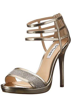 NINA Damen Fable-YY Kleid Sandalen, Gold (Platin)
